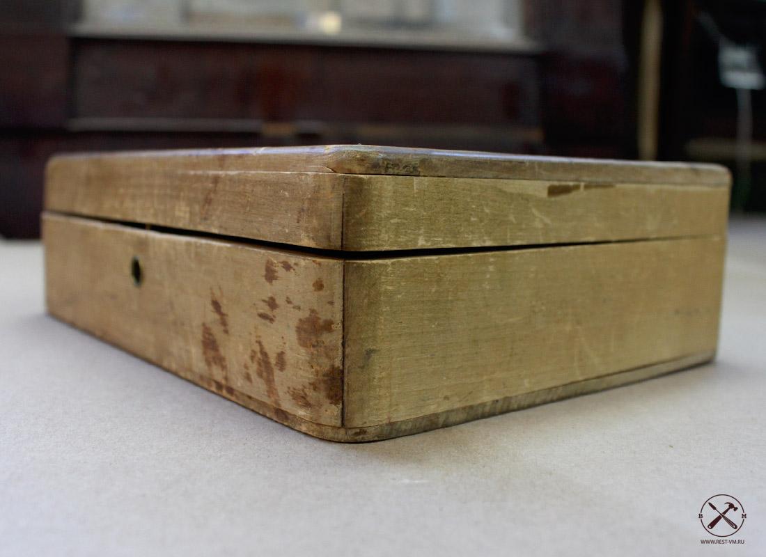 Реставрация деревянных шкатулок своими руками