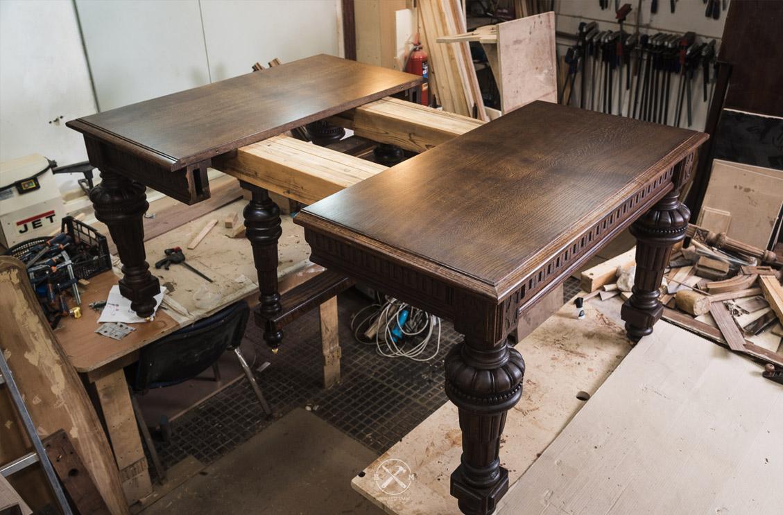 Деревянный стол реставрация своими руками 54